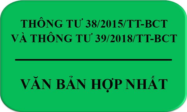 nội dung hợp nhất thông tư 39-2018-btc-va-thong-tu-38-2015-btc