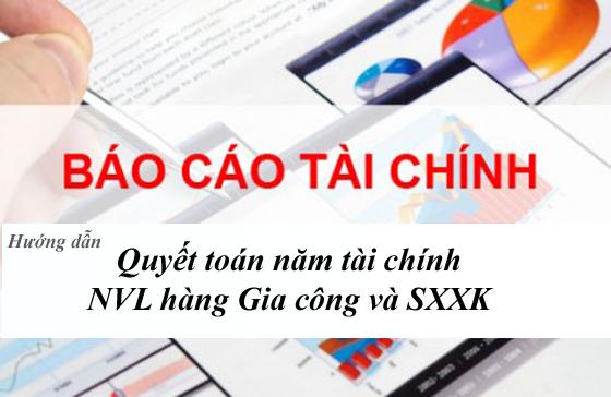 Bất cập trong báo cáo quyết toán hàng sản xuất xuất khẩu