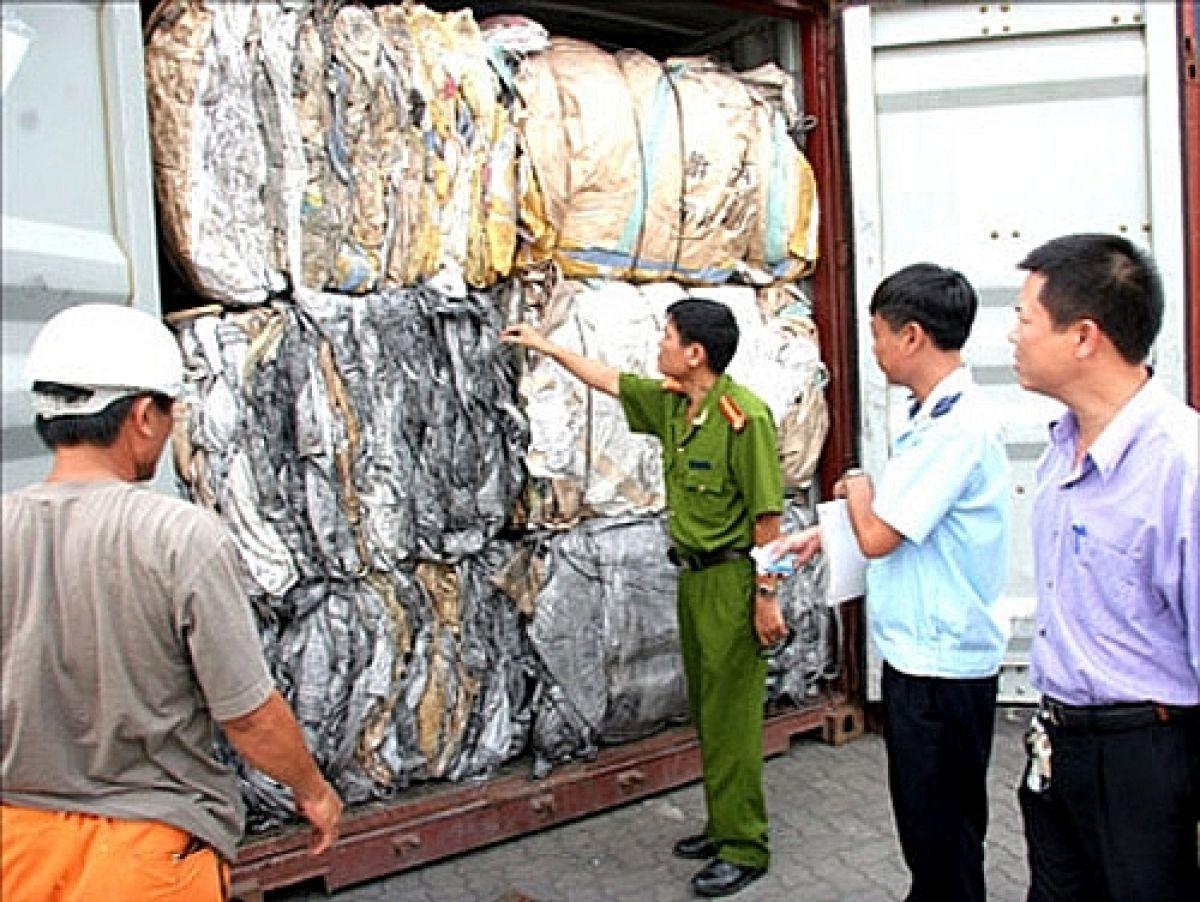 phối hợp liên ngành quản lý hoạt động nhập khẩu phế liệu