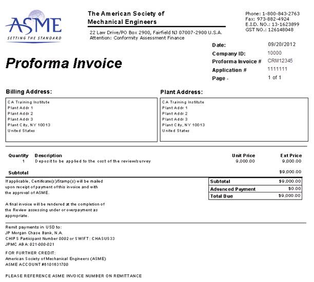 Sự khác nhau giữa proforma invoice và commercial invoice
