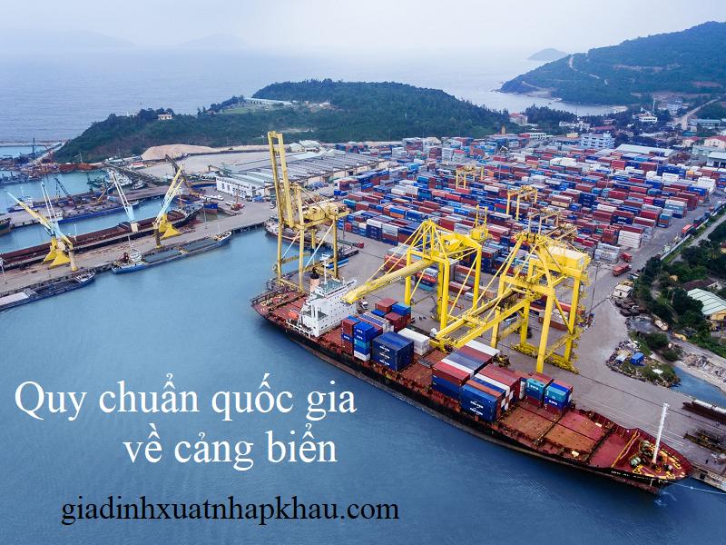 Quy chuẩn quốc gia về cảng biển